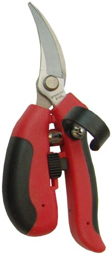 Barnel BP3600S 7.5-Inch Palm Fit Curved Bypass Blade Saber Shear/Pruner by Barnel