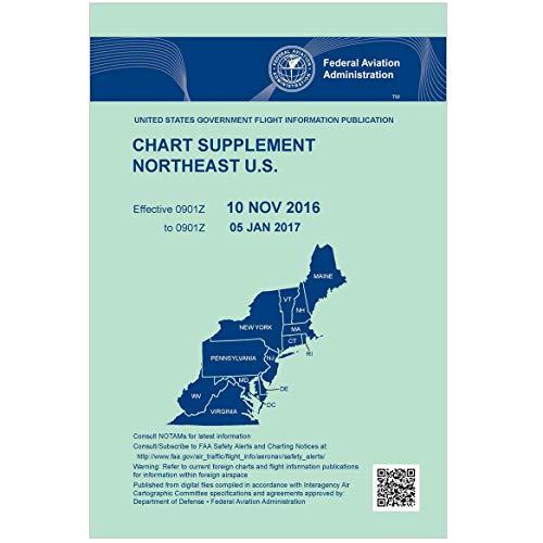FAA Chart Supplement Northeast (Always Current Edition) (Wac Chart)