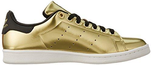 Gold W Top adidas Met Core Low Stan Women's Gold Black Smith Met Sneakers Gold tFwFnfZ8qx
