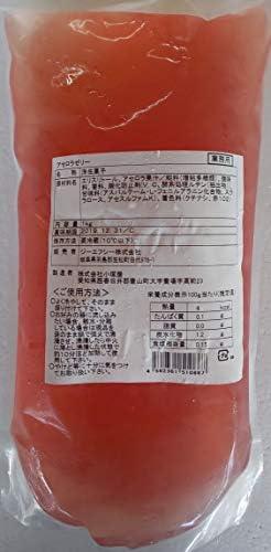 カロリーゼロ アセロラ ゼリー 1kg 業務用 インスタに大人気 冷凍