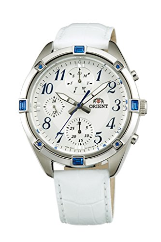 ORIENT Fashionable Quartz Chronograph Ladies Watch UY04006W
