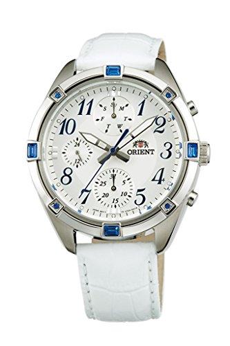 ORIENT Fashionable Quartz Chronograph Ladies Watch UY04006W (Orient Quartz Chronograph)