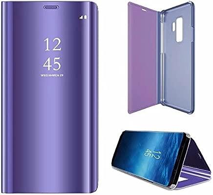 Desmontable Ultra-Delgado,360 /°Protection Inteligente Espejo Brillante tir/ón del Caso Duro para Samsung Galaxy M20 Oro Rosa Funda para Samsung Galaxy M20 Protector Cristal Templado