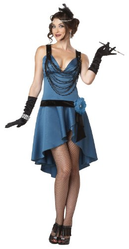 California Costumes Putting On The Ritz, Blue/Black, Small -