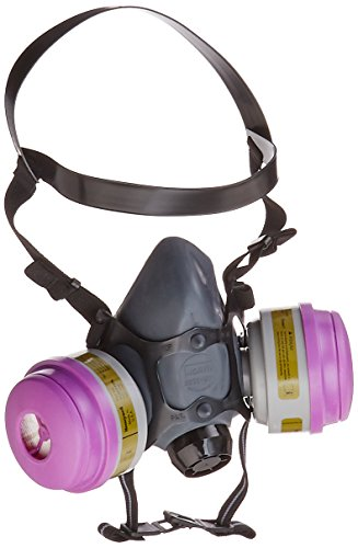 - Honeywell Multi-Purpose Reusable Half Mask MC/P100 Respirator Convenience Pack, Large (RWS-54032)