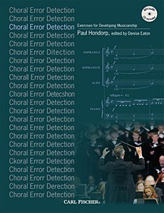 Error Detection (Choral Error Detection: Exercises for Developing Musicianship by Paul Hondorp (2015-01-15))