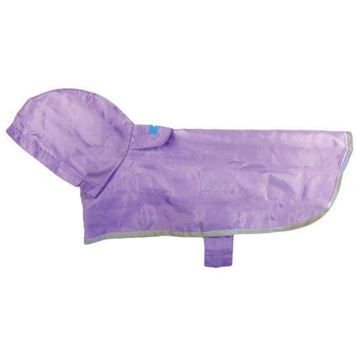 RC Pet Products Packable Dog Rain Poncho, Lavender, X-Large, My Pet Supplies