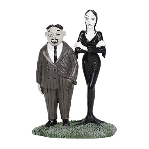 (Department56 Addams Family Village Accessories Gomez and Morticia Figurine 2.76