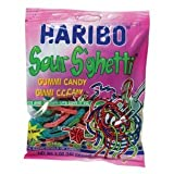 Haribo Gummi Sour Sghetti Bag