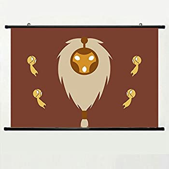 Wall Posters Wall Scroll Poster with League of Legends Riot Games Bard  Minimalism Home Decor Fabric Painting 23 6 X 15 7 Inch