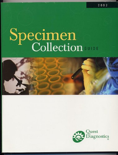 Specimen Collection Guide 2002 Quest Diagnostics