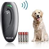 Modus Dog Ultrasonic Trainer - Anti Barking Device Dog Bark Control Dog Training Aid 2 in 1 Ultrasonic Bark Control Dog Bark Deterrent Device W/Anti-Static Wrist Strap LED Indicate Walk A Dog Outdoor
