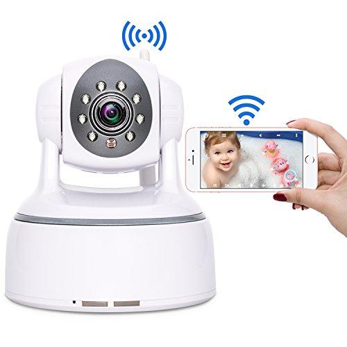 Wireless Security Camera, Aisino WiFi Indoor IP Cam Remote C