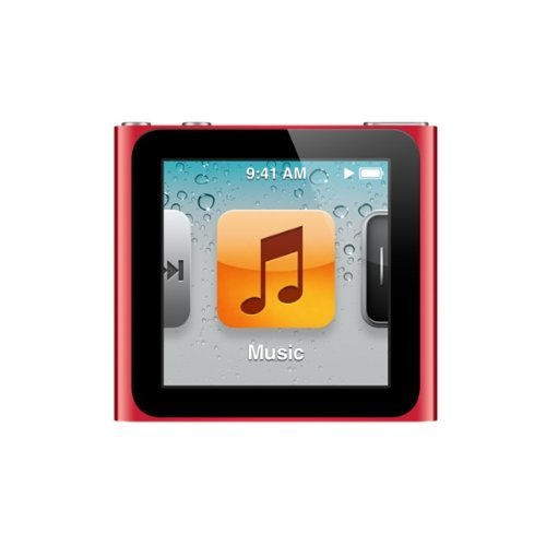 Apple iPod Nano (6th Generation) 16GB Red Discontinued By Manufacturer