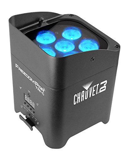 CHAUVET DJ Freedom Par Tri-6 Battery-Operated RGB LED Wash Light | LED Lighting by CHAUVET DJ