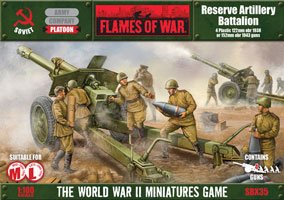 Flames of War Reserve Artillery Battalion for sale  Delivered anywhere in USA