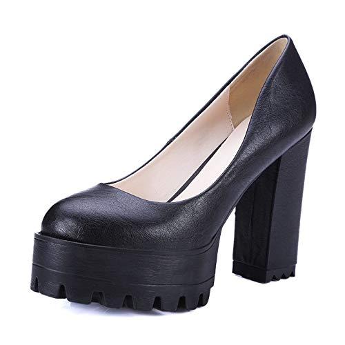 MENGLTX High Heels Sandalen Mode Mode Mode Neue Frauen Pumpt Dicke High Heels Plattform Frühling Sommer Einzelne Schuhe Frau High Heels Weibliche Kleid Schuhe B07QKKN5PG Sport- & Outdoorschuhe Keine Begrenzung zu üben 3d7ec2