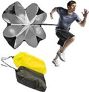 JWBOSS Running Speed Chute Resistance Parachute Training Parachute Umbrella Sprint Power Soccer Trainer Fitnes