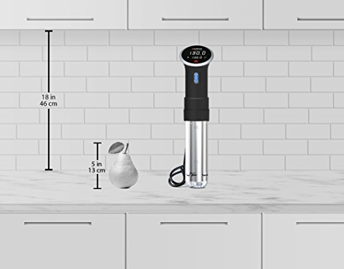 Anova Culinary Sous Vide Precision Cooker Bluetooth, Immersion Circulator, 800 Watts, Black