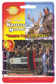 Hands Deer Free Call (Whitetail Maniac ~ Hands Free Doe Call ~ Deer Hunting Calls By Roger Raglin)