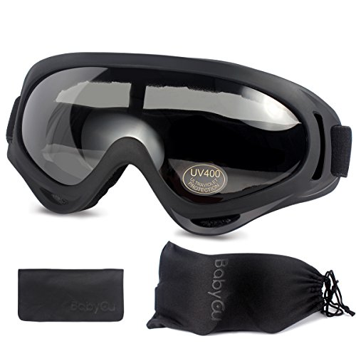 Ski Goggles Skiing Sonwboard Goggles For Men Women & Youth With 100% UV Protection, - Sunglasses Skiing Or Goggles For