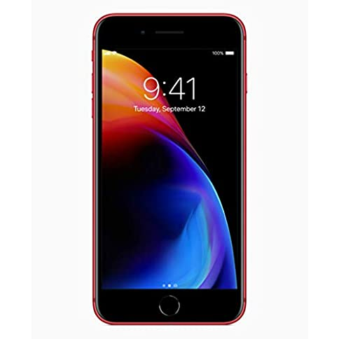 - 41qgEtK8sEL - Apple iPhone 8 Plus 64GB Red (special edition Product RED) A1897 – Factory Unlocked – GSM ONLY, NO CDMA (Renewed)