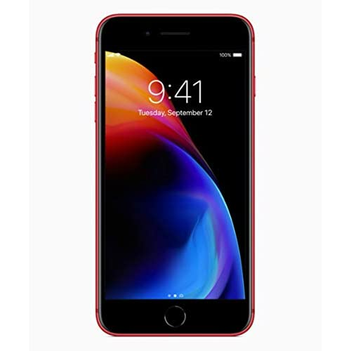 Apple iPhone 8 Plus 64GB Red (special edition Product RED) A1897 - Factory Unlocked - GSM ONLY, NO CDMA (Renewed)
