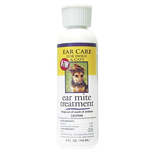 Miracle Care R-7M Ear Mite Treatment 4 oz 4 oz