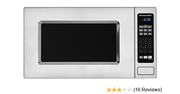 Amazon.com: KitchenAid Architect Series II: KCMS1555SSS 1.5 Cu. Ft.  Countertop/Built In Microwave Oven   Stainless Steel: Kitchen U0026 Dining