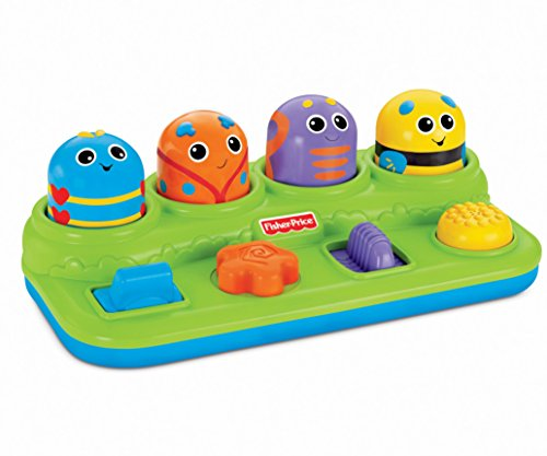 Fisher-Price Brilliant Basics Boppin' Activity Bugs [Amazon -