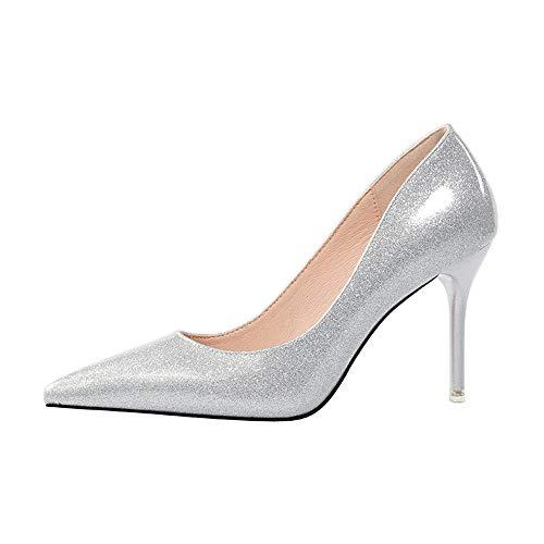 Renly Compensées 2 36 55 Femme Sandales 9622 5 Silver Argenté IEIwr