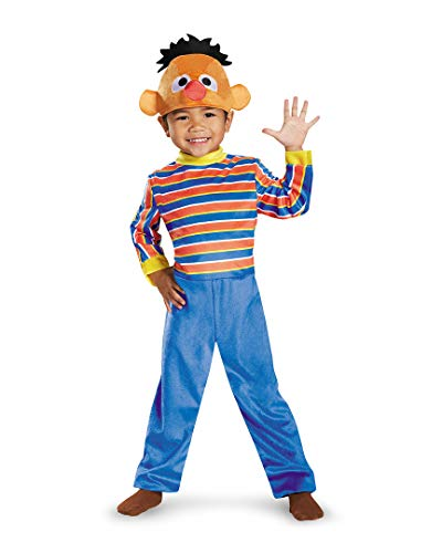 Ernie Deluxe Toddler Costume, Small