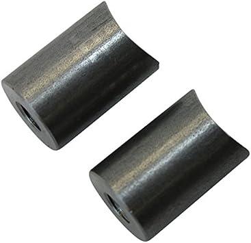 4 pack BungKing 1//4 X 20 Threaded Bungs Mild Steel