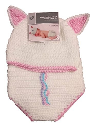 Buy crocheted hat and diaper cover