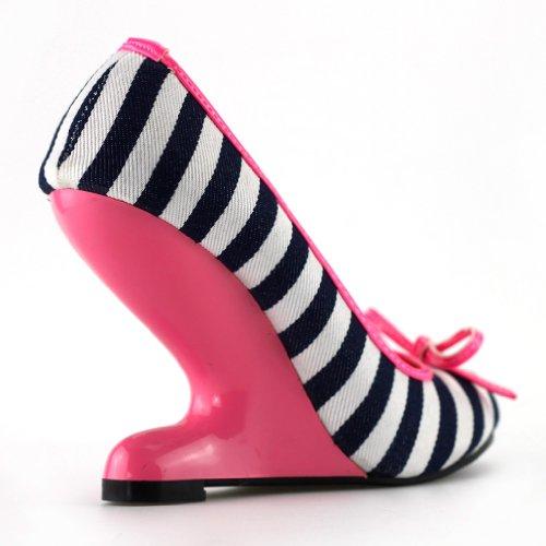 Show Story - punta cerrada mujer rosa - hot pink