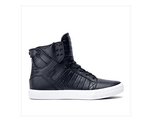 Supra Skytop Skate Schoen Zwart Wit