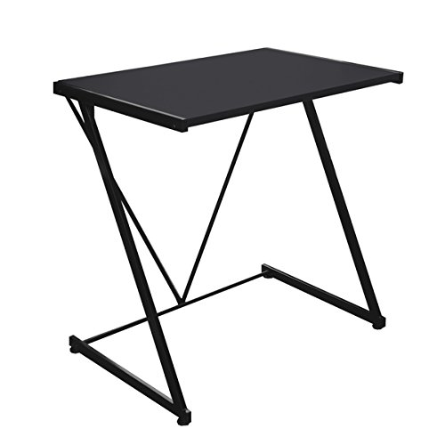 Urban Shop Black Metal Z-shaped Student Writing Desk by Urban Shop
