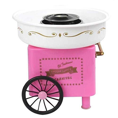 Dynamic Items Shop Hot Tod-110-220V Sweet Automatic Cotton Candy Mane Household DIY 500W Cotton Candy Maker Sugar Floss Mane for S