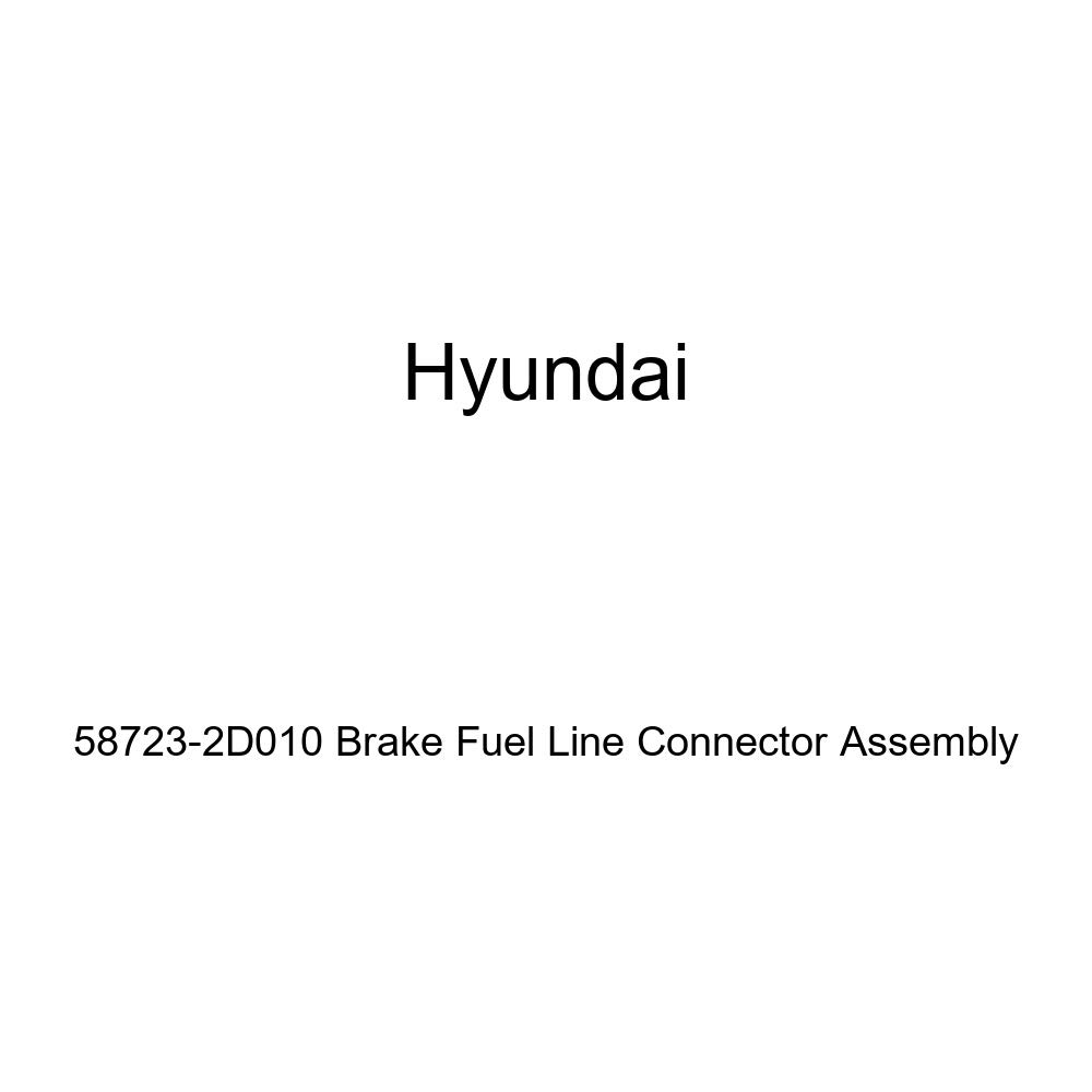 Genuine Hyundai 58723-2D010 Brake Fuel Line Connector Assembly