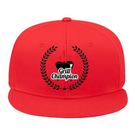 Cool Grill Champion Cotton Snapback Cap Hat Male/female Hip Hop Cap Kelvigibbs