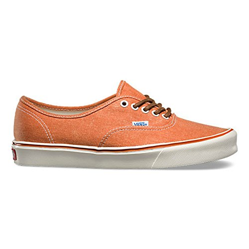 VANS Authentic Lite + Womens Size 6 Vintage Burnt Orange Fashion Shoes