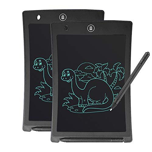 GUYUCOM Writing Board, 8.5inch LCD Writing Tablet Doodle Board Message Board with Lock Button for Kids Adults