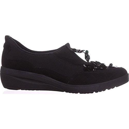 Anne Klein Femmes Yael Tissu Sneaker Noir / Multi Tissu