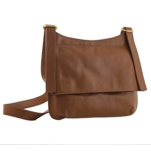 NOVICA Brown Leather Messenger Bag, Rio Adventure in Burnt Sienna'