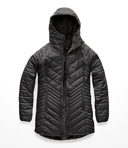- The North Face Women's's Mossbud Insulated Reversible Parka - Asphalt Grey - M