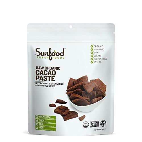 Sunfood - Organic Chocolate Cacao Paste -- 1 lb