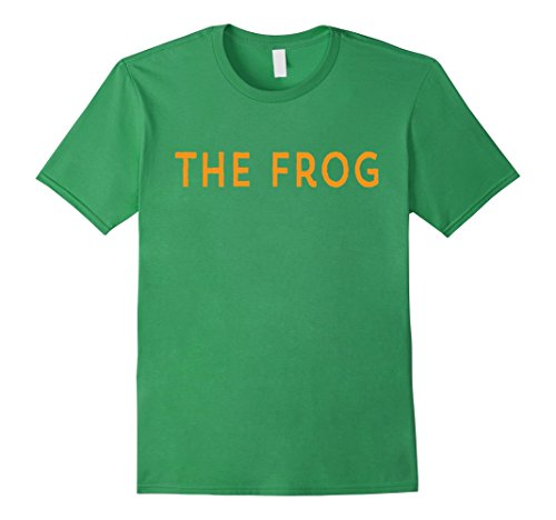 Princess And The Frog Costume Ideas (Mens Princess Funny Matching Halloween Costume and Her FROG Shirt XL Grass)