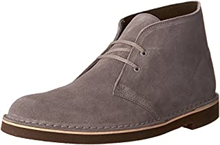 Clarks Men's Bushacre 2 Chukka Boot, Grey Suede, 10 M US (B01I2B8HLW) | Amazon price tracker / tracking, Amazon price history charts, Amazon price watches, Amazon price drop alerts