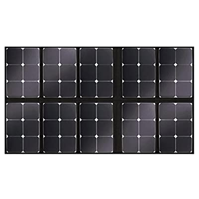SolarOak 200W Foldable Solar Panel with Portable Solar Charger Outdoor Water Resistant SunPower Mono-Crystalline Battery Charger for iPhone,iPad,iPod,Samsung,Camera,All Cellphone and Electronic Device