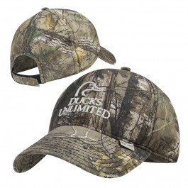 Ducks Unlimited Hat - Ducks Unlimited Marsh Commander Distressed Cap- RTX